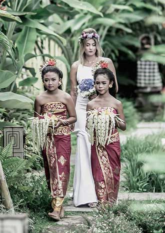 Balinese Wedding Blessing